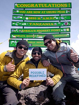 Spencer West, Double-Amputee, Climbs Kilimanjaro Using Only His Hands