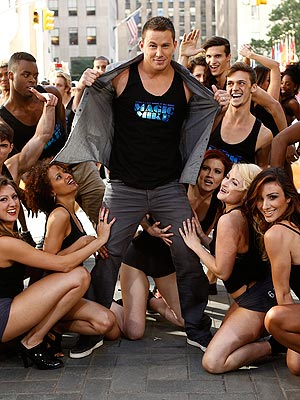 Channing Tatum Strips & Dances Like He Does in Magic Mike