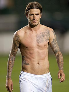 David Beckham Signs New Deal, Says 'Bonjour' to French Soccer Team | David Beckham