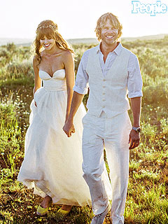 Eric Christian Olsen Gets Married (PHOTO)
