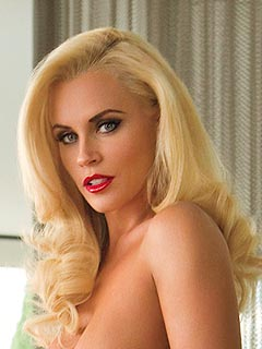 PHOTO: Jenny McCarthy Sizzles with Old Hollywood Glamour in Playboy | Jenny McCarthy