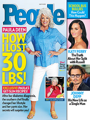 Paula Deen, in PEOPLE Magazine, Opens Up About Diabetes, Weight Loss
