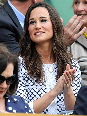 PHOTO: Pippa Middleton Watches Serena Williams at Wimbledon | Pippa Middleton