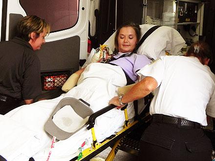 Aimee Copeland, Flesh-Eating Bacteria Victim, Happy to Be in Rehab