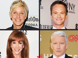 Anderson Cooper Appreciates 'Nice Tweets' After Coming Out | Anderson Cooper, Ellen DeGeneres, Kathy Griffin, Neil Patrick Harris