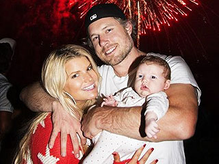 PHOTO: Jessica Simpson Celebrates July 4th with Baby Maxwell | Jessica Simpson