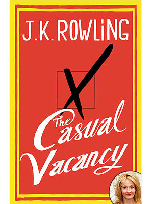 J.K. Rowling's The Casual Vacancy Cover Released