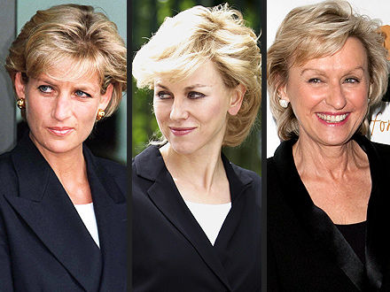 Naomi Watts Photographed Filming as Princess Diana