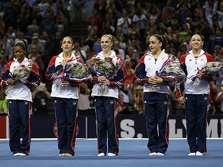 Dominique Moceanu Breaks Down the Women&#39;s Olympic Gymnastics Team| Summer Olympics 2012, Dominique Moceanu, Nastia Liukin