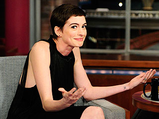 Whoa! Did David Letterman Spoil Dark Knight Rises? | Anne Hathaway
