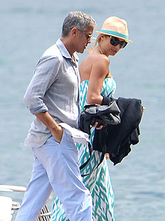 George Clooney & Stacy Keibler's Italian Vacation Setback: Food Poisoning