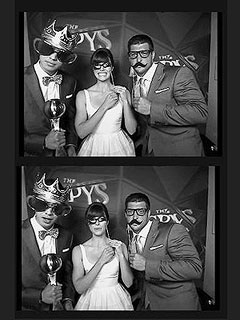 PHOTO: Jessica Biel Goofs Off with Jeremy Lin & Tim Tebow at the ESPYs | Jeremy Lin, Jessica Biel, Tim Tebow