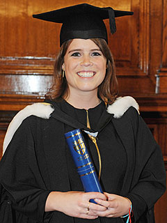 See Princess Eugenie in Graduation Cap and Gown | Princess Eugenie