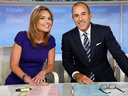 Savannah Guthrie Survives First-Day Hazing on Today