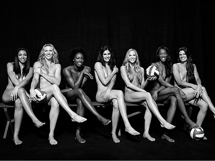 Olympics 2012: Women's Volleyball Team Nude in ESPN Magazine