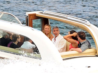 PHOTOS: Channing & Clooney Take Their Ladies Cruisin' on Lake Como | Channing Tatum, George Clooney, Jenna Dewan, Stacy Keibler