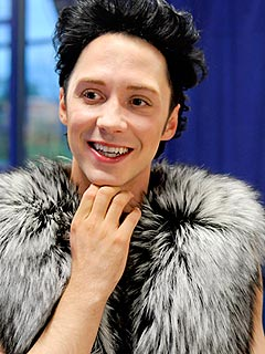 Johnny Weir Blogs: Gymnastics Is Forcing Me To Do My &#39;Stick It&#39; Pose