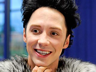 Johnny Weir Blogs: Gymnastics Is Forcing Me To Do My 'Stick It' Pose