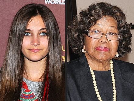 Paris Jackson: Katherine Jackson Is Here