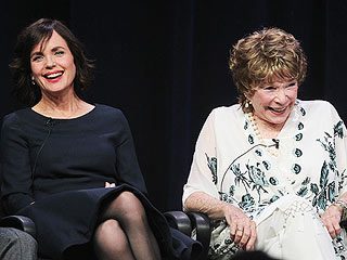 Shirley MacLaine Didn't Know What Downton Abbey Was Before She Filmed It | Elizabeth McGovern, Shirley MacLaine