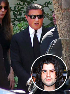 Sylvester Stallone&#39;s Son Laid to Rest | Sylvester Stallone