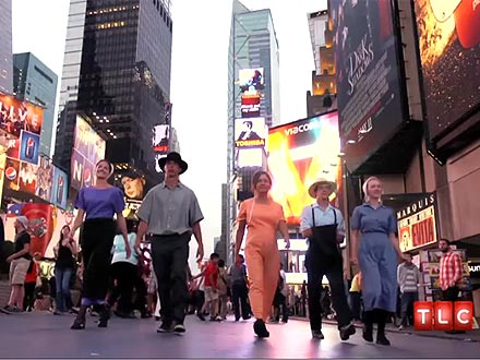 Breaking Amish Reality Show in New York City