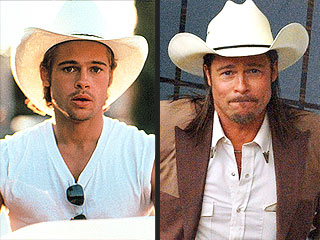 Yee-haw! Which of Brad Pitt's Cowboy Looks Is Hotter? | Brad Pitt