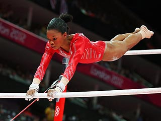 Gabrielle Douglas Makes History with Gymnastics All-Around Gold Medal | Gabrielle Douglas