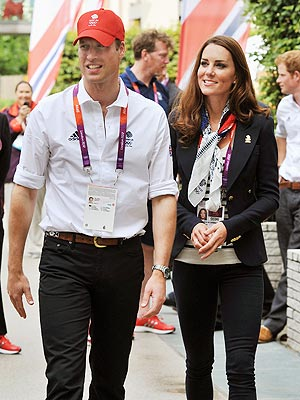 Olympics 2012: Prince William, Kate Greet Team Great Britain