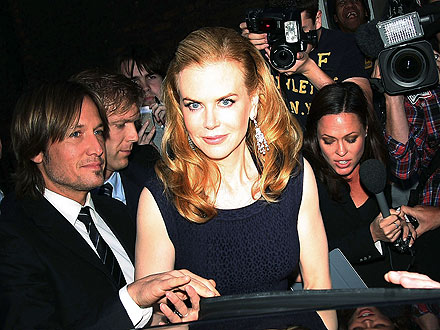 Nicole Kidman & Keith Urban Are Guests of Honor at London Olympics Bash