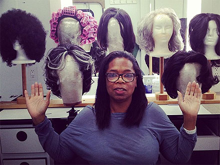 oprah 1 440x330 Oprah Winfrey Reveals More of Her Hair — But This Time, It's Fake