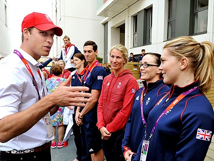 Prince William & Kate Greet Team GB at Olympic Park| Summer Olympics 2012, The British Royals, Kate Middleton, Prince Harry, Prince William, Zara Phillips