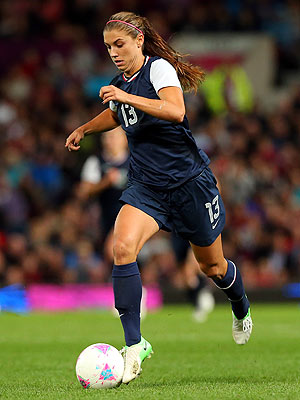 Alex Morgan, U.S. Women's Soccer Team Preps to Play Japan