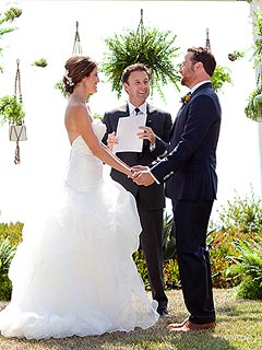 Chris Harrison Officiates Star-Studded Wedding of Bachelor Producers