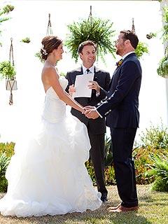 Chris Harrison Officiates Star-Studded Wedding of Bachelor Producers