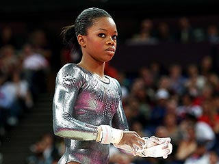 How Did Gold Medalist Gabby Douglas Do on Uneven Bars?