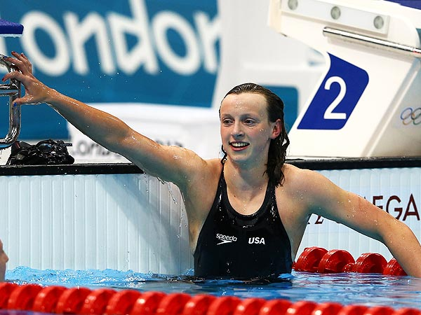 Katie Ledecky Wins Gold, Heads Back to School