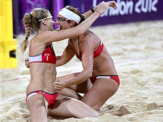 Misty May-Treanor & Kerri Walsh Jennings Pull Off a Three-Peat!