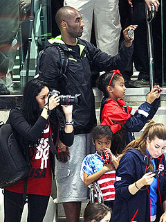 Kobe, Vanessa Bryant Make Olympics a Family Vacation | Kobe Bryant