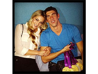 An Inside Look at Michael Phelps & Megan Rossee's Relationship – Via Twitter | Michael Phelps