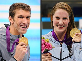 Michael Phelps & Missy Franklin Win Gold in Final Races in London