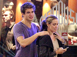 Natalie Coughlin & Nathan Adrian Grab Late Night Snack in London | Natalie Coughlin