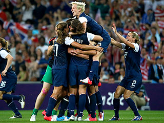 U.S.A. Pulls Off Three-Peat for Gold in Women's Soccer!