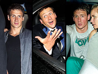 PHOTOS: Ryan Lochte Parties Hard in London | Ryan Lochte