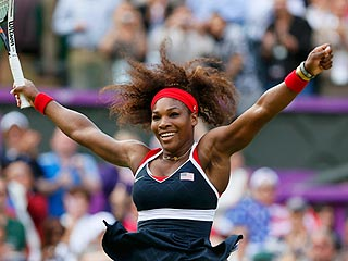Serena Williams Dominates Maria Sharapova to Win Olympic Gold | Serena Williams