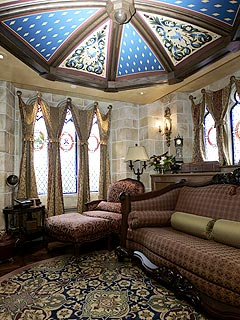 Suri Cruise Spends a Magical Night in Cinderella's Castle Suite| Walt Disney World, Suri Cruise, Tom Cruise