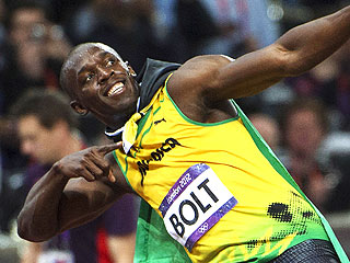 Usain Bolt Sprints into History in 100-Meter Final