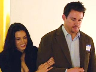 VIDEO: Channing & Jenna Play Reel-Life Couple Again in 10 Years