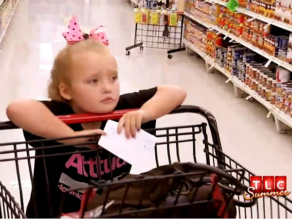 Honey Boo Boo Child Goes Couponing; Video Sneak Peek