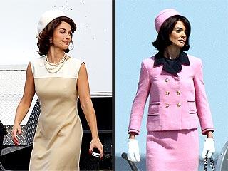 See Minka Kelly as Jacqueline Kennedy Onassis | Katie Holmes, Minka Kelly